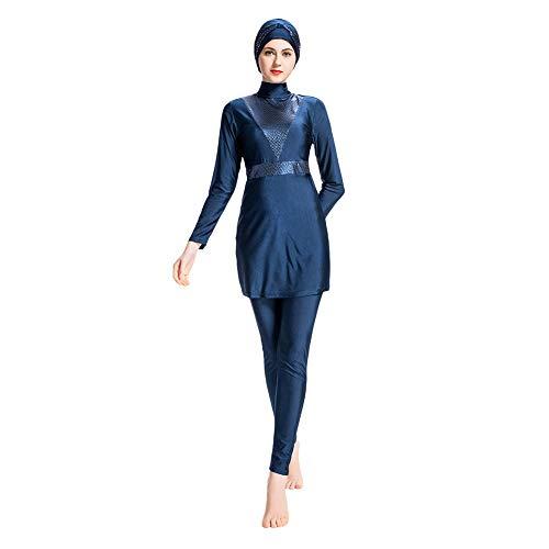 Meijunter Bañador Musulmán Modesto Burkini - Traje de Baño para Mujer Pantalones Hijab...