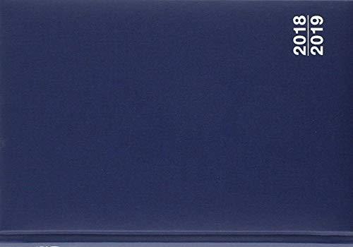 Organisations- und Planungsbuch 2018/2019, blau: Das bewährte Kalenderbuch - jeder Tag hat eine Seite
