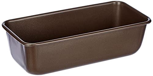 Dr. Oetker Kasten-/Königskuchenform, 25 cm, der Serie Back-Edition mit Antihaftbeschichtung, zusätzlich keramisch verstärkte Kuchenform, Menge: 1 Stück, Farbe: braun