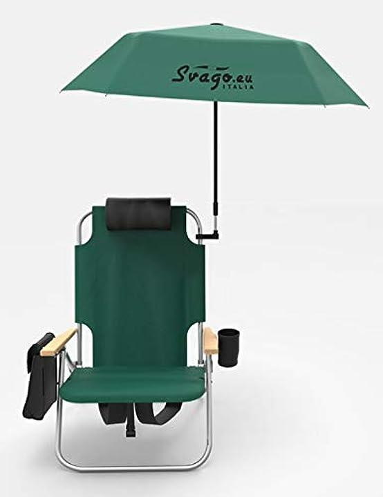 Sedia zaino top con ombrellino svago B07YDYT64M