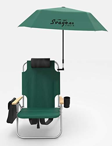 SVAGO Silla mochila Top con paraguas