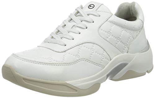 Tamaris Damen 1-1-23720-25 Sneaker, weiß, 39 EU