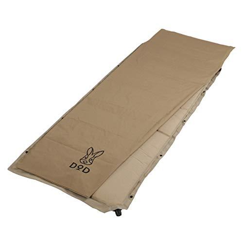 DOD(ディーオーディー) ソトネノサソイS 丸洗いシーツ付き 厚み4.5cmエアマット シングルサイズ CM1-620-TN