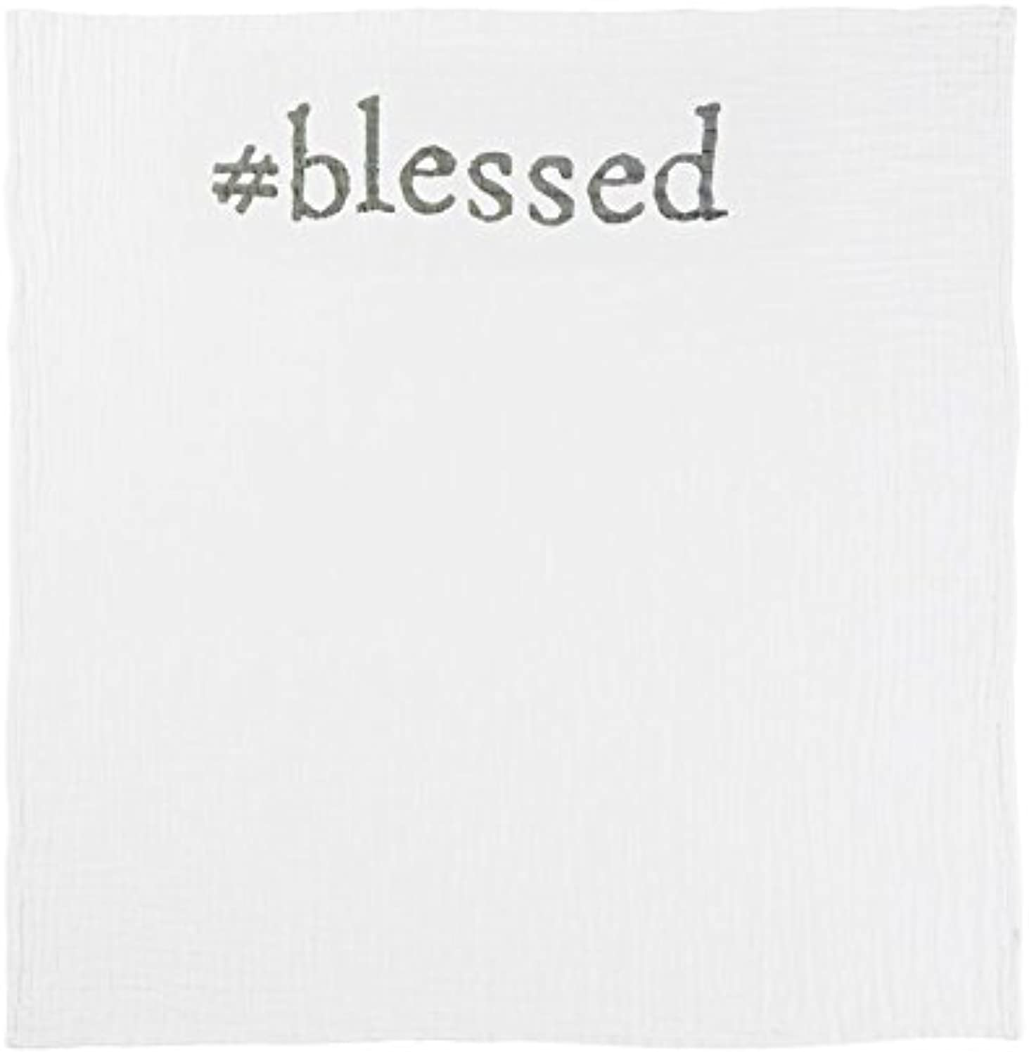 Mud Pie Blessed Announcement Blankets