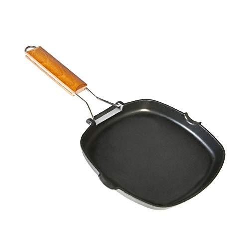 We Cook Grill, Aluminio, Negro, 24 cm