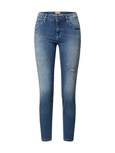 ONLY Dames ONLCARMEN REG SK ANK JOGG DEST BB ANA716 Jeans, Light Blue Denim, XS/32