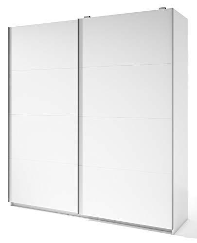 Miroytengo Armario Grande 2 Puertas correderas Color Blanco