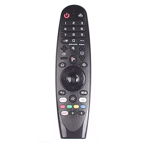 LIKEDA Control Remoto Mágico para LG Smart TV 2.4G Control Remoto Inalámbrico AN-MR600 AN-MR650A MR650 AN MR600 MR500 MR400 MR700 AKB74495301 AKB74855401 Controlador