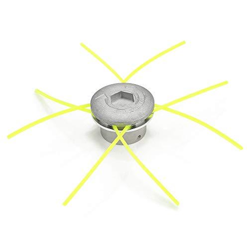 1 juego de cabezales de desbrozadora de aluminio universal para cortacésped, cortadora...