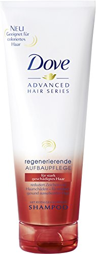 Dove Advanced Hair Series Shampoo Regenerierende Aufbaupflege, 250 ml