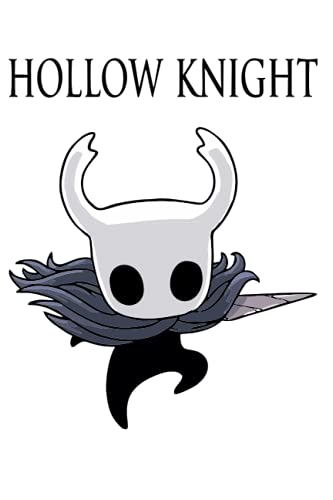 Hollow Knight Notebook: Minimalist Composition Book | 100 pages | 6' x 9' | Collage Lined Pages | Journal | Diary |...