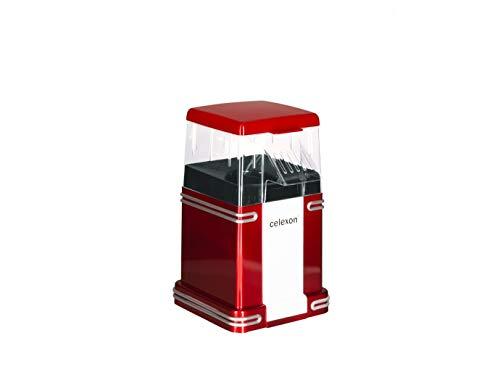 máquina de palomitas de maíz sin aceite/bajo en grasa CinePop CP250-22x17,5x28,5cm - Peso: 1,3 kg - rojo/retro