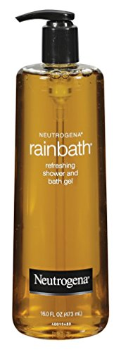 Neutrogena Rainbath Refreshing and Cleansing Shower and Bath Gel, Moisturizing Body Wash and Shaving Gel with Clean Rinsing Lather, Original Scent, 16 fl. oz (Pack of 2)