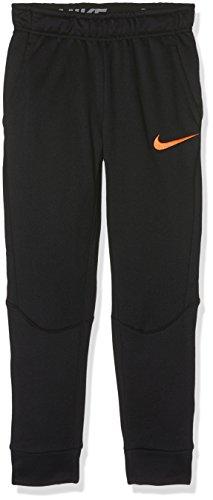 Nike B NK Dry Taper FLC Hose Trainingsanzug, Kinder S schwarz / (schwarz/Hyper Crimson)