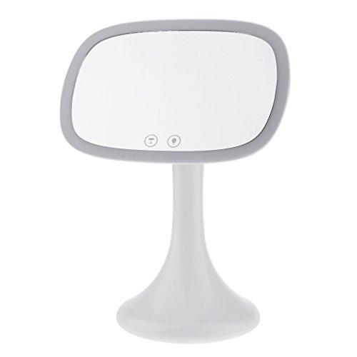 kowaku Espejo de Tocador con Luz LED Independiente + Espejo de Aumento Batería/Suministro USB