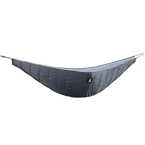 OneTigris Night Protector Ultralight Hammock Underquilt, Full Length Camping Quilt for Hammocks Warm 3 - 4 Seasons, Weighs only 28oz, Great for Camping Hiking Backpacking Traveling Beach