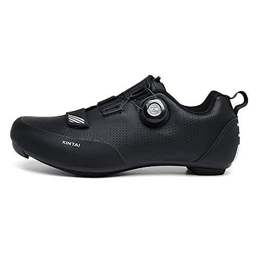 Suiyue Tech. Zapatillas Bicicleta Calzado Carretera Hombre Mujer Transpirable Antideslizantes Zapatillas de Ciclismo Cómodo Ligero Profesional Adulto para Bicicleta de Carretera