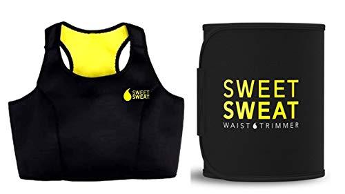 VINGABOY Sweet Sweat Top and Slimming Belt/Tummy Trimmer Hot Body Shaper Combo Slim Belt & Shaper Sports Bra Hot Waist Shaper Belt...