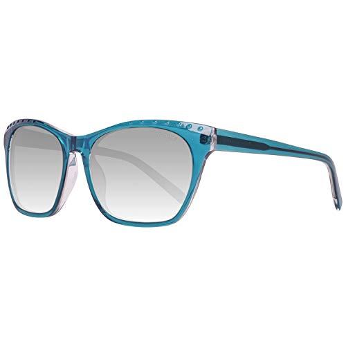ESPRIT ET17873 56563 Sonnenbrille ET17873 563 56 Schmetterling Sonnenbrille 52, Blau