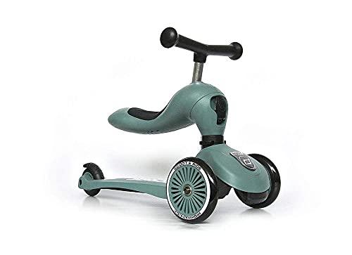 スクート&ライド ハイウェイキック1 フォレスト キッズスクーター キックボード 三輪車【日本正規品保証付】