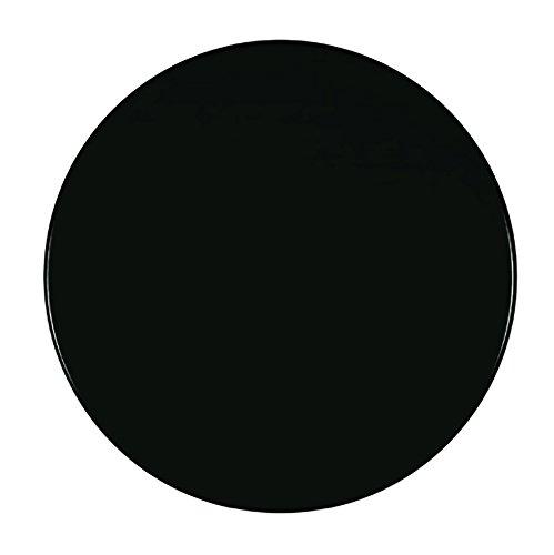Werzalit Tischplatte, Dekor schwarz 70 cm rund wetterfest Ersatztischplatte Bistrotisch Stehtisch Tisch Gastronomie