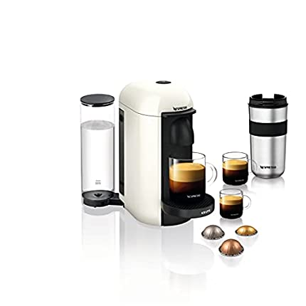 Krups Nespresso Vertuo Plus - Cafetera de Cápsulas