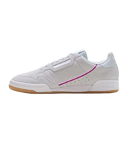Adidas Continental 80 W, Zapatillas de Deporte para Mujer, Multicolor (Tinazu/Ros INT/Ftwbla 000), 36 1/3 EU