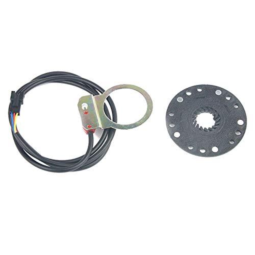 Bicicleta eléctrica Scooter Pedal Asistente Sensor de Refuerzo Inductor E-Bici Kit de...
