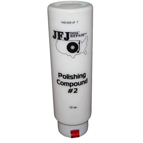 JFJ Disc Repair JFJPOL2 12oz #2 Polish Compound, White