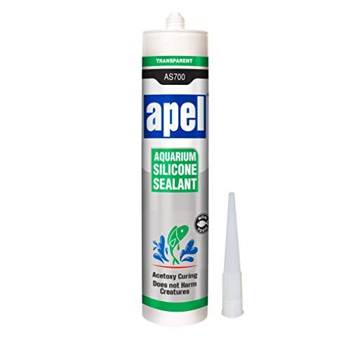 APEL Aquarium 100% Silicone Sealant (10.4 fl oz) Non Toxic Safe for Fish