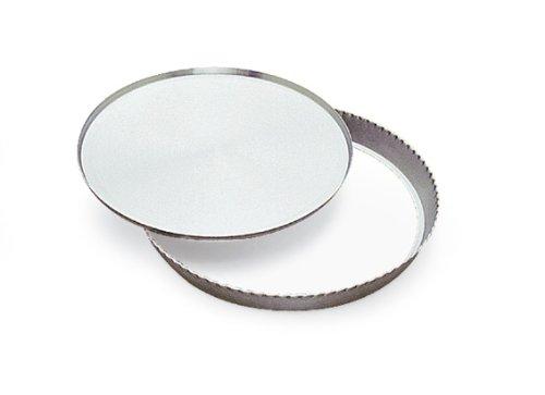 Gobel 625670 Moule Tourtière Rond Cannellé Fond Mobile Aluminium 36 cm
