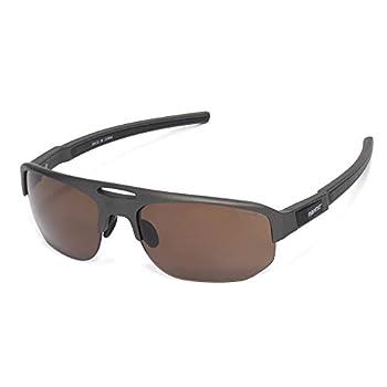 Golf Sunglasses for Men Women Driving Baseball Sports Glasses TR90 Wraparound UV Protection Fasion Design Style MZ865  Gun Color Frame Brown Lens