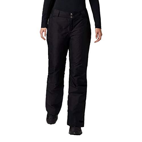 Columbia Womens Arctic Trip Omni-Heat Snow Pant, Short Length, Black (Large)