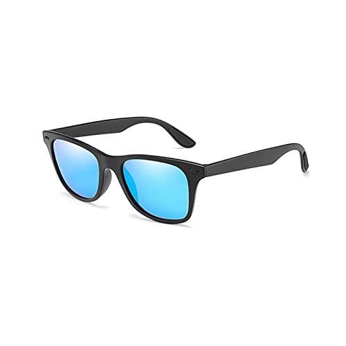 MINGQIMY Gafas de Sol Gafas de Sol Hombres Classic Vintage Plaza Polarizadas Polarizadas Gafas Mujeres Hombres Conducción Gafas Moda Marca Diseñador Eyewear