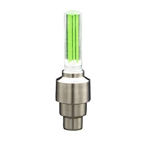 Material de aleación de zinc de acero atornillado y diseño antifuga anti-robo universal de metal modificado neumático válvula núcleo