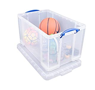 Really Useful 84 Litre Storage Box, Clear (B000O1IN68) | Amazon price tracker / tracking, Amazon price history charts, Amazon price watches, Amazon price drop alerts