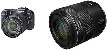 Canon EOS RP with RF 24-105mm F/4L IS USM + RF 85mm lens Mirrorless Camera Bundle Kit
