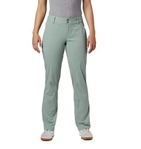 Columbia Saturday Trail Pantalon Stretch Hydrofuge et Anti-Taches pour Femme, Femme, 1579861, Lichen, 42