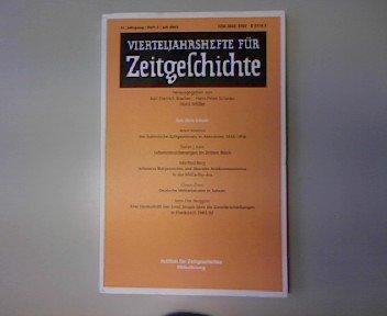 Lebensversicherungen im Dritten Reich, in: Vierteljahreshefte für Zeitgeschichte 3/2003.
