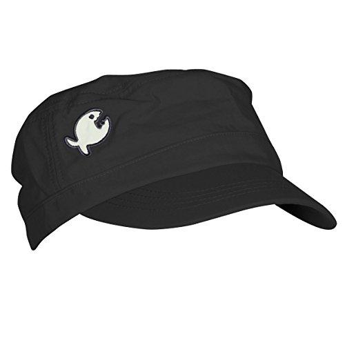 iQ-UV Erwachsene UV Mütze 200 Cap Rough Fish, schwarz, One Size
