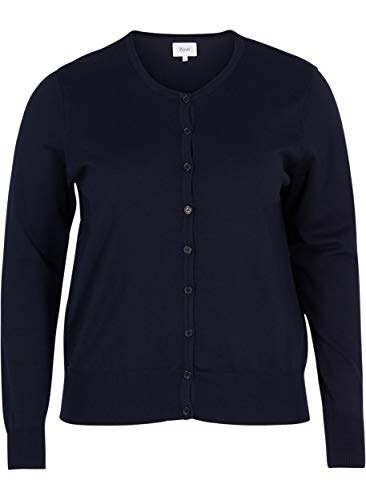 Zizzi dames gebreid vest Basis-Cardigan