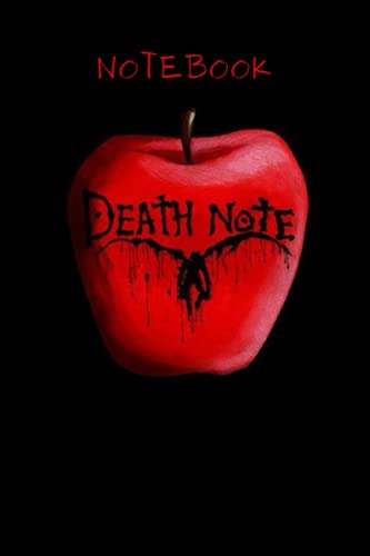 Death Note Notebook: Great Notebook for School or as a Diary, Lined With More than 120 Pages. death note notebook