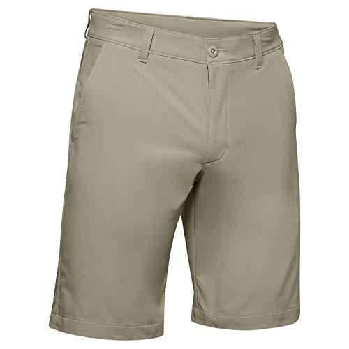 Under Armour UA Tech Short - Short de Sport léger, Confortable pour Homme, Beige (Khaki Base) (Khaki Base/Khaki Base/Khaki Base (289), 40
