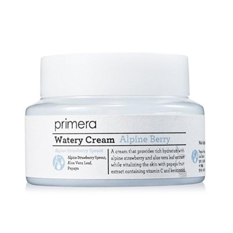 包括的中庭抽象化PRIMERA プリメラ アルパイン ベリー ウォータリー クリーム(Alpine Berry Watery Cream)50ml