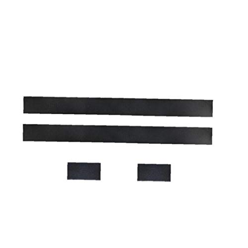 Befestigungsgurte Car Styling Gürtel Auto-Kofferraum Gürtel Fahrzeug Verstauen Aufräumen Beutel-Bügel Feuerlöscher Bracket Aufkleber Fixband Set schwarz