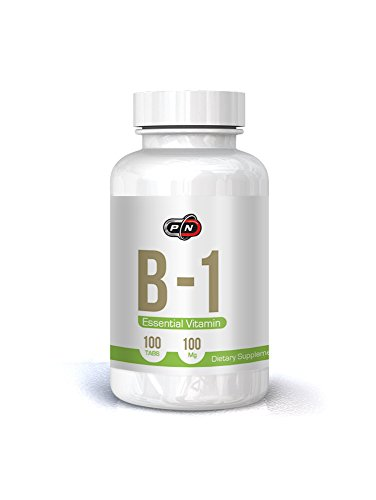 Pure Nutrition Essential Vitamin B1 Thiamin 100 mg 100 Tabs
