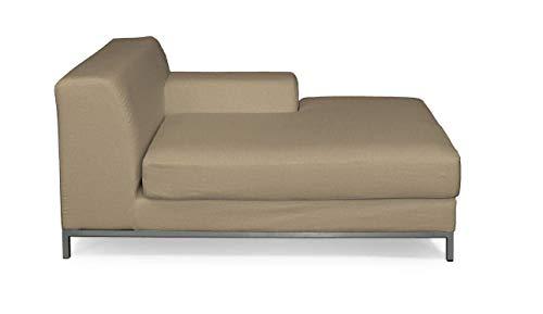 Dekoria Kramfors Recamiere rechts Sofabezug Sofahusse passend für IKEA Modell Kramfors beige