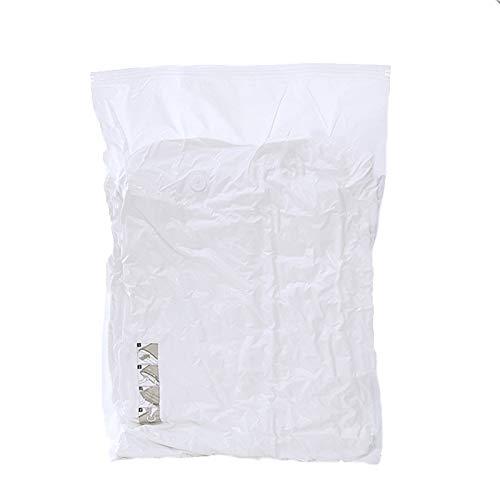 Bolsas al vacio|BolsaVacio Ropa| 4 Piezas De Bolsa De Almacenamiento Al Vacío Pueden Almacenar Ropa Y Ropa De Cama, Adecuadas Para Embalaje De Viaje, Bomba Cargada ( Color : White , Size : 100x70cm )