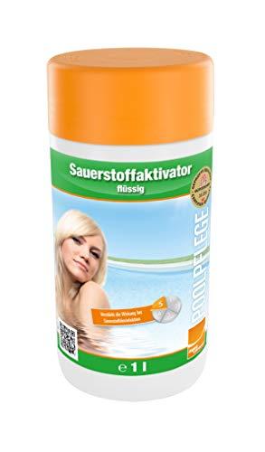 Steinbach Sauerstoffaktivator, 1l Flasche, chlorfrei, Wasserpflege ohne Chlor