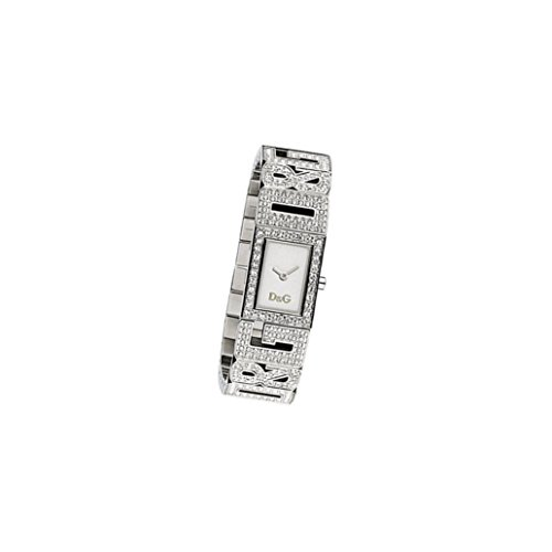 D&G Dolce&Gabbana Damenuhr 'Shout' DW0286 silbernes Armband